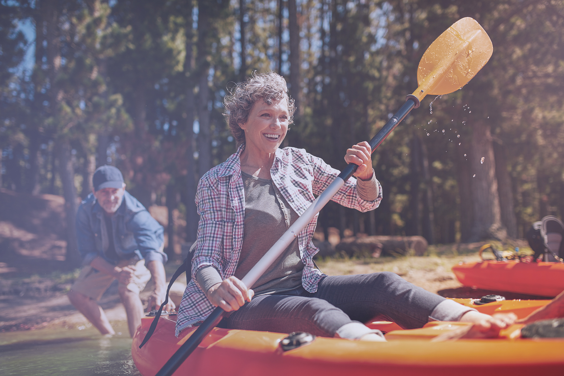 Menopause Care - Kayaking